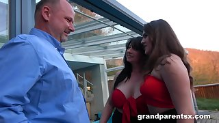 GrandParentsX Innocent Teen And Her First Sexual Experi