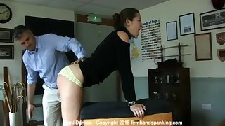 Dani Daniels in One Well Paddled Ass!